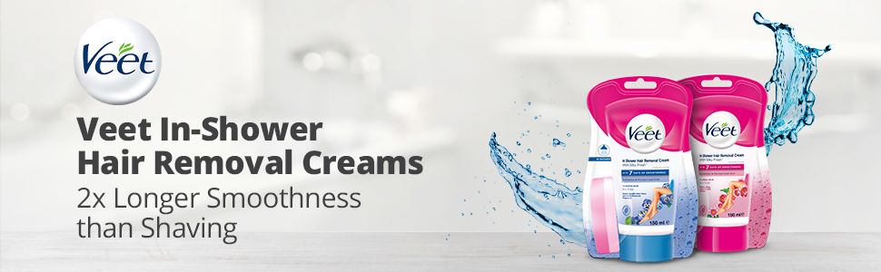 Veet In Shower Hair Removal Creams