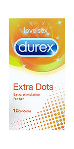 Durex Extra Dots Condoms