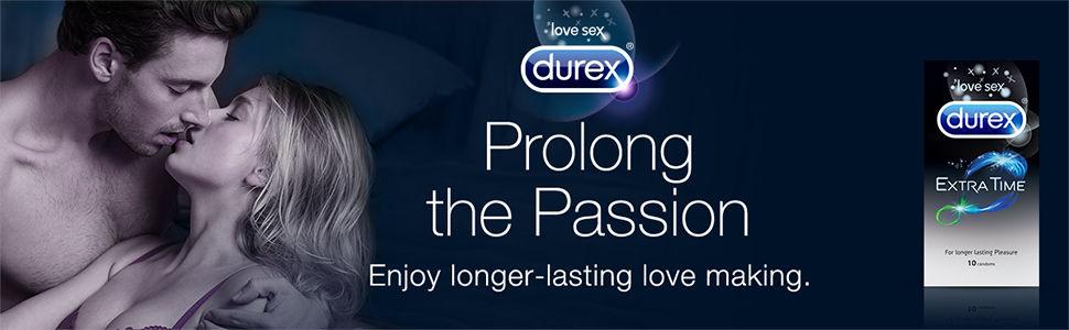 Durex Extra Time A+ Banner