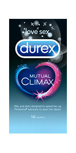 Durex Mutual Climax Condoms