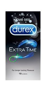 Durex Extra Time Condoms
