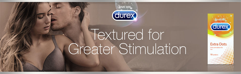 Durex Extra Dots Banner