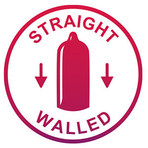 Straight walled