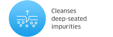 Cleanses deep-seated impurities
