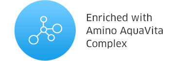 Enriched with Amino AquaVita Complex