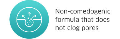 Non-comedogenic formula that does not clog pores