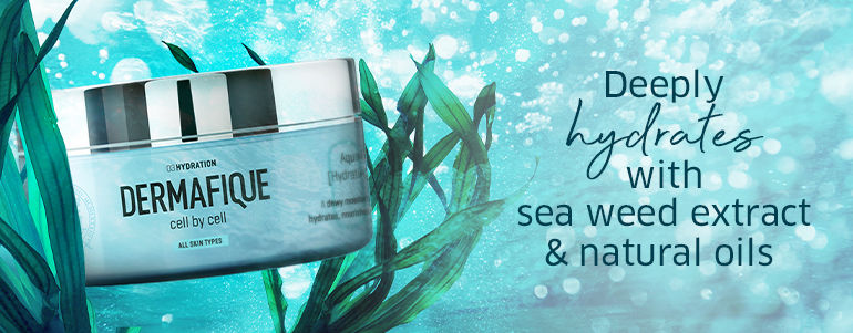 Deeply hydrates with sea weed extract & natural oils