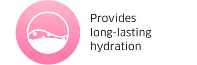 Provides long-lasting hydration
