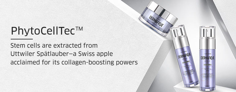 PhytoCellTec, Stem cells are extracted from Uttwiller Spatlaubar-a swiss apple acclaimed for its collagen-boosting powers