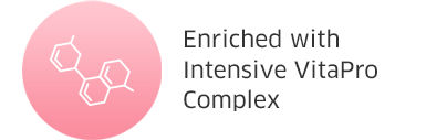 Enriched with Intensive VitaPro Complex