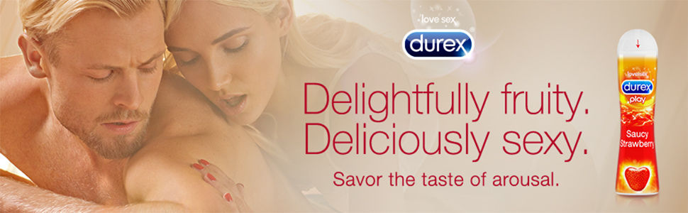 Durex Saucy Strawberry Banner