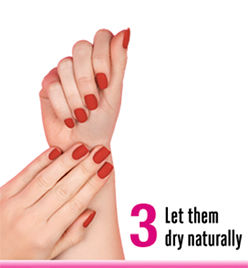 let them dry naturlly